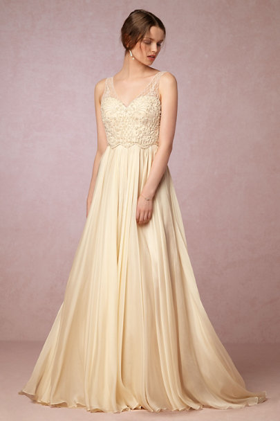 Catherine Deane Cream Ostara Gown | BHLDN