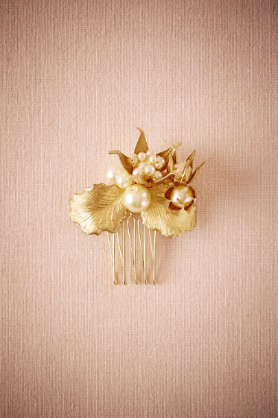 Debra Moreland Gold Saint-Germaine Comb | BHLDN
