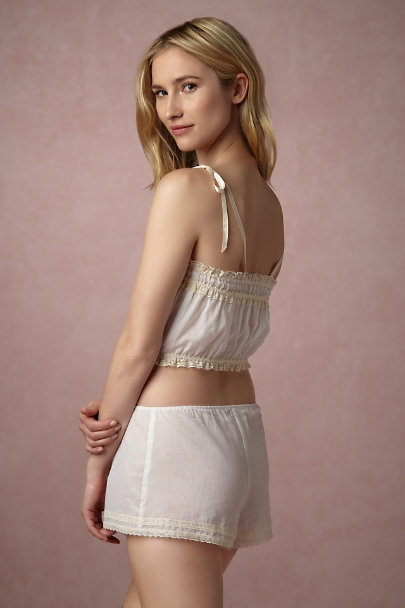 Only Hearts White Beatrix Camisole | BHLDN