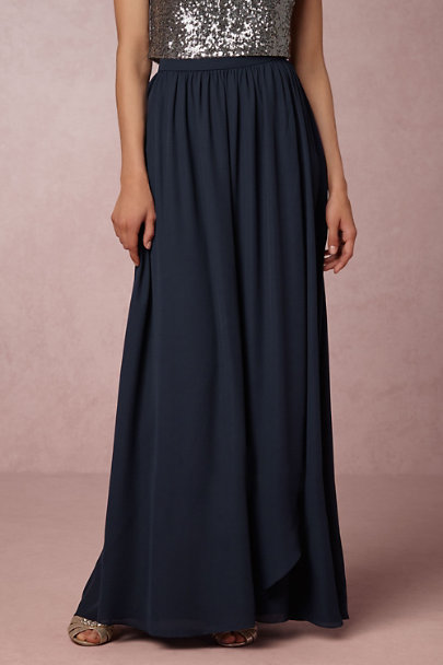 Hitherto Navy Jane Skirt | BHLDN