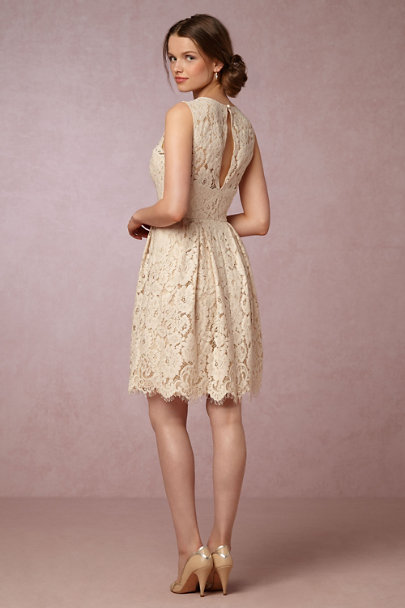 Hitherto Champagne Kinsley Dress | BHLDN