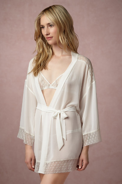 Only Hearts Creme Mireille Robe | BHLDN