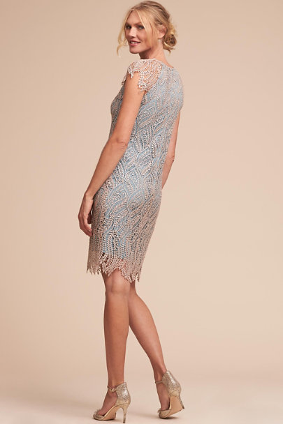 Mignon Doo Vintage Silver Pierre Dress | BHLDN