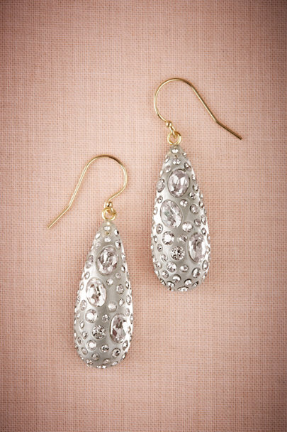 Alexis Bittar Silver Radiant Drop Earrings | BHLDN