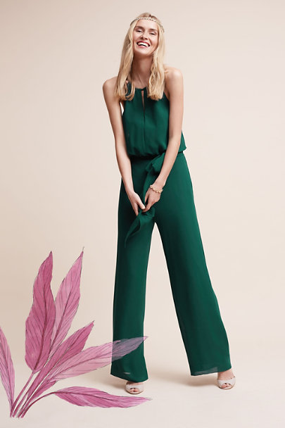 Donna Morgan Emerald Jackie Jumpsuit | BHLDN
