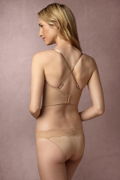 Le Mystere Natural Coralie Low Back Bustier  | BHLDN