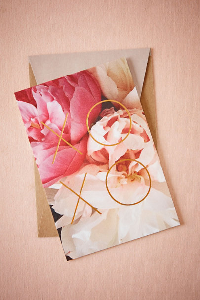 Red XOXO Card | BHLDN