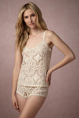 Mosaic Lace Shorts