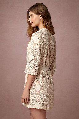 Mosaic Lace Robe