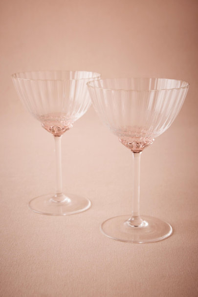 Pink Crinoline Coupes (2) | BHLDN
