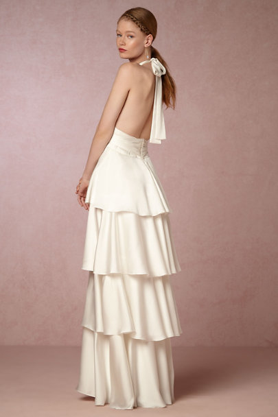Jill Jill Stuart Ivory Billie Dress | BHLDN