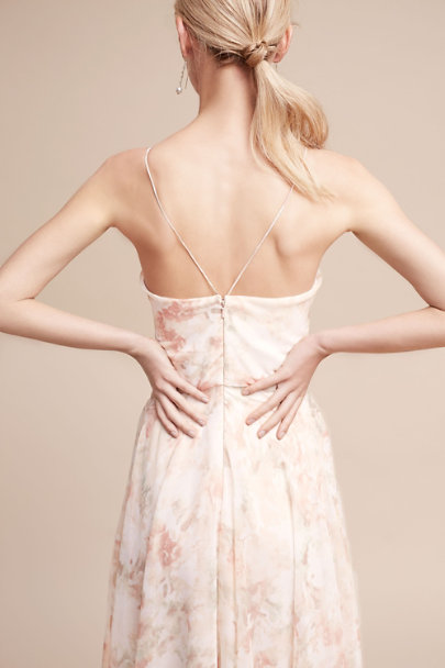 Jenny Yoo Blush Multi Inesse Dress | BHLDN