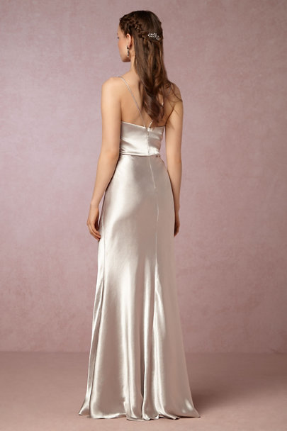 Jenny Yoo Silver Sylvana Dress | BHLDN
