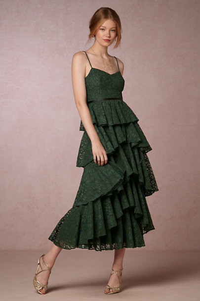 Cynthia Rowley Emerald Lucy Dress | BHLDN