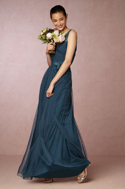 Hitherto Blue Opal Fleur Dress | BHLDN