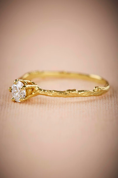 Alex Monroe Gold Branchette Diamond Ring | BHLDN