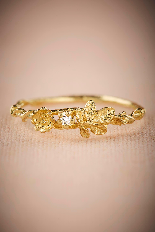 Wildrose Diamond Ring