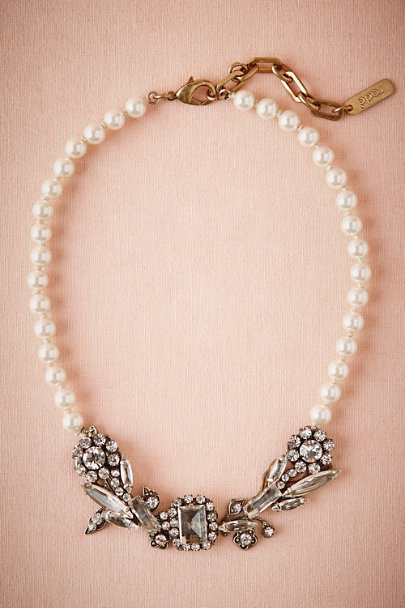 Radà Silver Boleyn Pearl Necklace | BHLDN