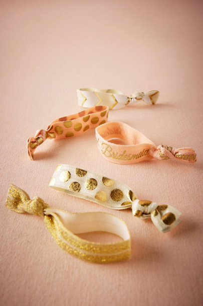 Bridesmaid Be My Maids Hair Ties (5) | BHLDN