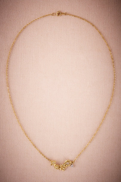 Gold Goldbloom Necklace | BHLDN