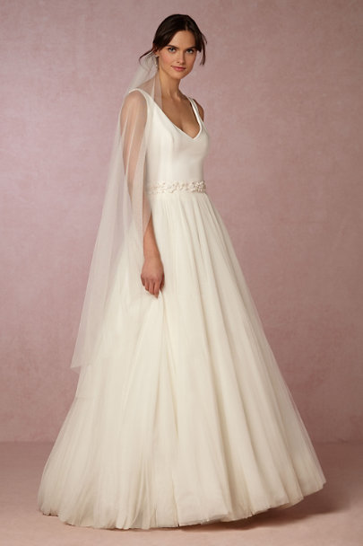 Theia Bridal Ivory Alba Top | BHLDN