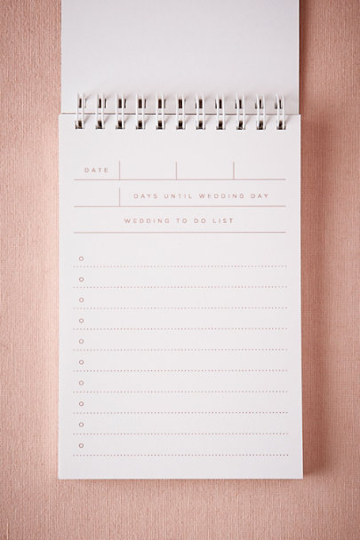 White Until I Say I Do Journal | BHLDN