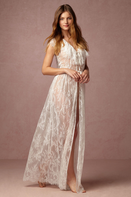 Letizia Lace Robe