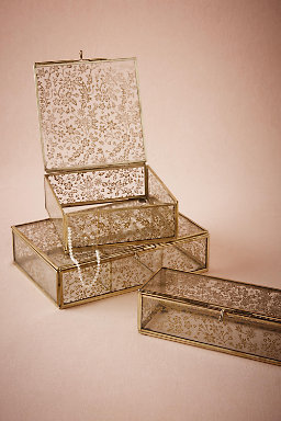 Gilded Lace Jewelry Box