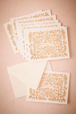 Rose Thicket Thank You Cards (8)