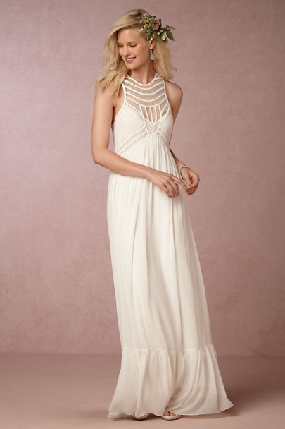 Ivory Jessalyn Dress | BHLDN