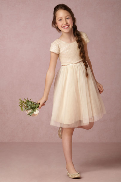 Jenny Yoo Ivory Minnie Dress | BHLDN