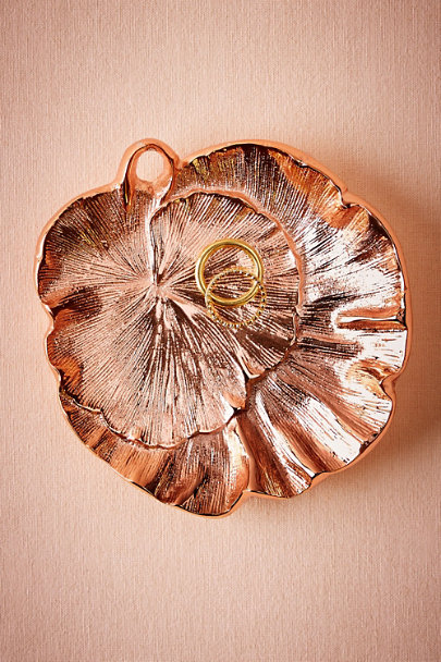 Rose Gingko Ring Dish | BHLDN