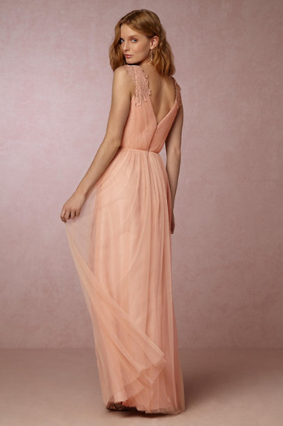 Watters Aurora Pink Pippa Dress | BHLDN