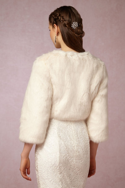 Helen Moore Ivory Greer Jacket | BHLDN