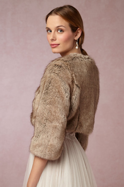 Helen Moore Truffle Greer Jacket | BHLDN