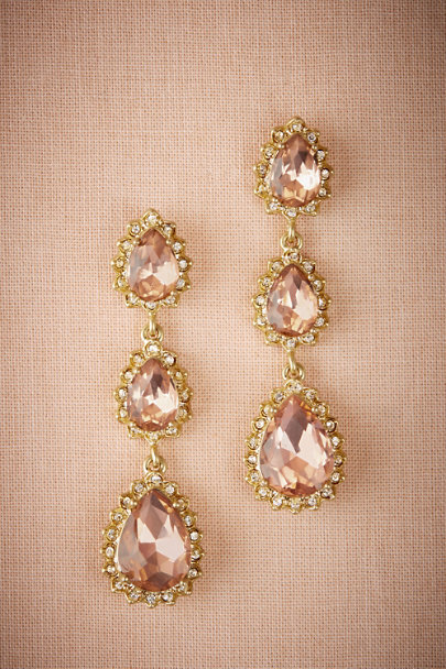 Marchesa Notte Gold Jestia Drop Earrings | BHLDN