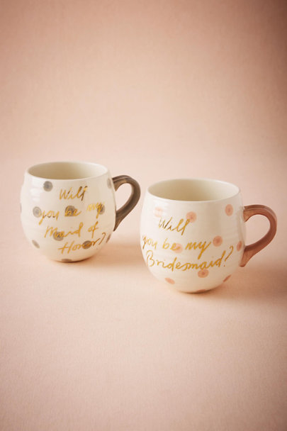 Maid Of Honor Will You Be Mug | BHLDN