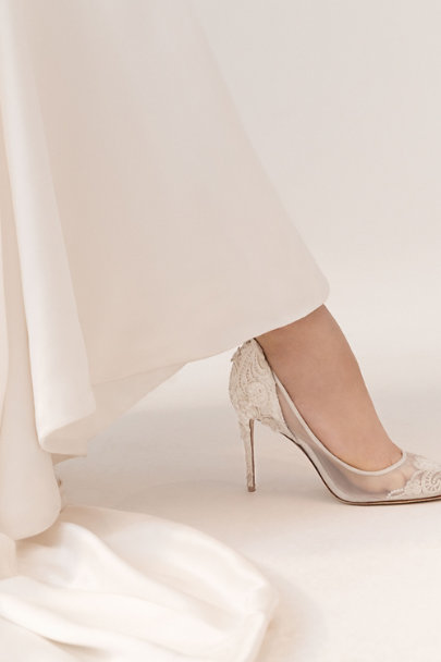Ivory Victoria Pumps | BHLDN