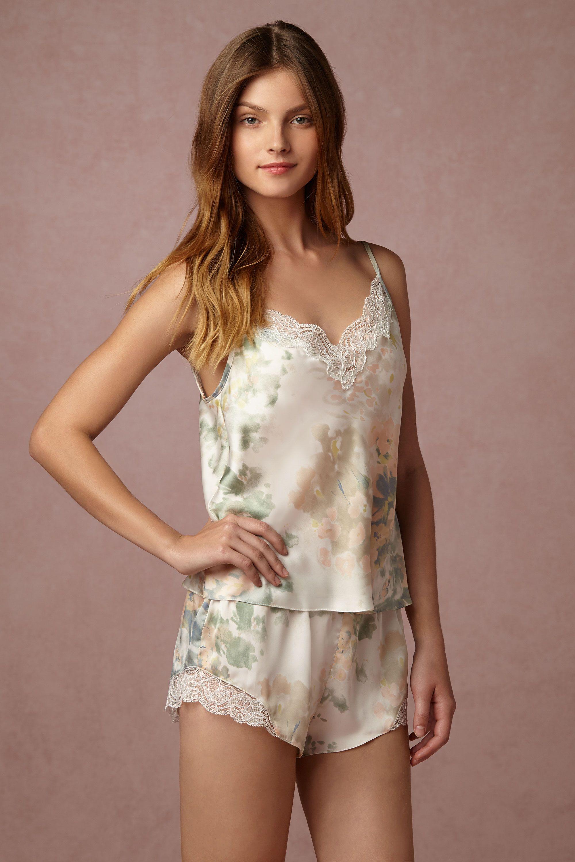 Whispering Blooms Cami & Shorts Set