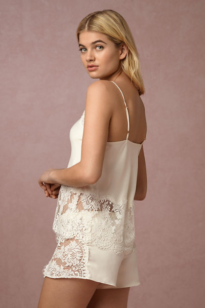 Flora Nikrooz Creme Candlelight Shorts | BHLDN