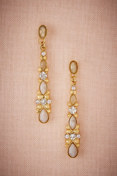Sorrelli Gold Agate Chandelier Earrings | BHLDN