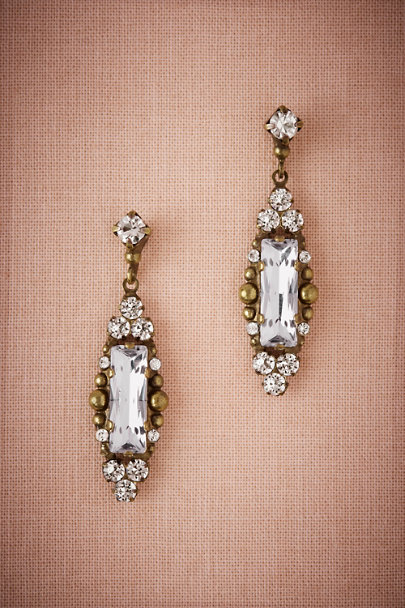 Sorrelli Gold Trixie Chandelier Earrings | BHLDN