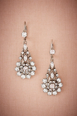 Inge Crystal Drop Earrings