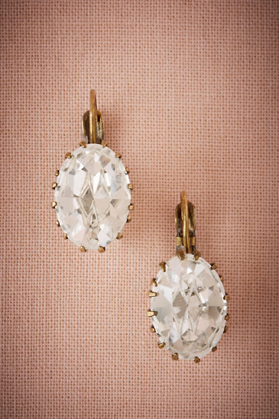 Sorrelli Gold Kerrine Crystal Earrings | BHLDN