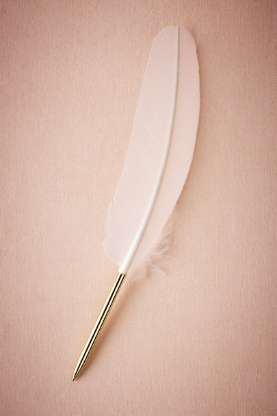 White Quill Pen | BHLDN
