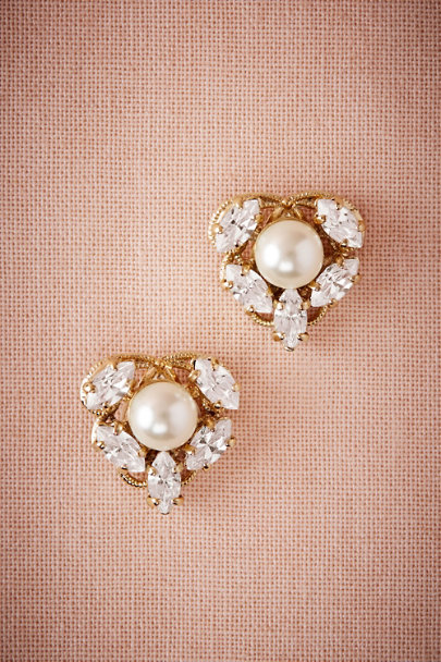 Anton Heunis Gold Josepha Earrings | BHLDN
