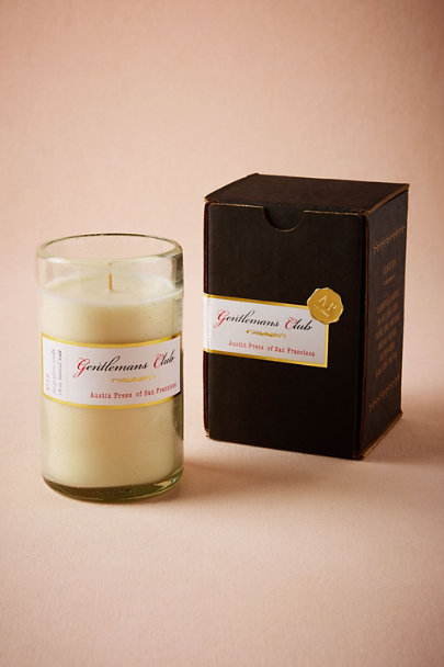 Black Gentleman's Club Candle | BHLDN