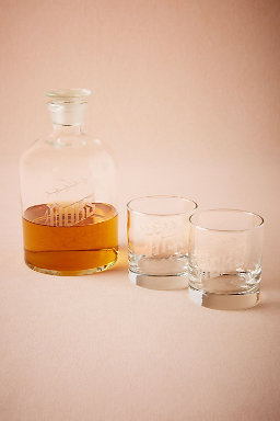 His, Hers & Ours Decanter Set