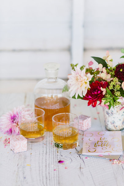Clear His, Hers & Ours Decanter Set | BHLDN