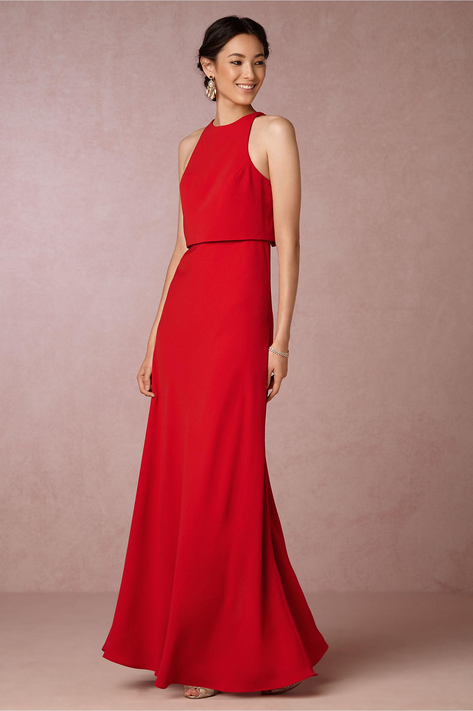 Iva Crepe Maxi in Sale Dresses | BHLDN